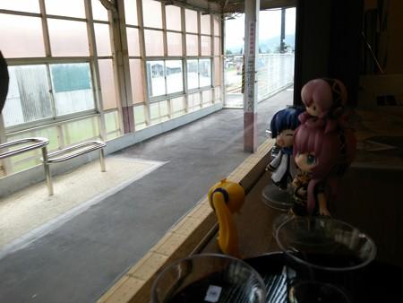 越後川口駅に16時停車。