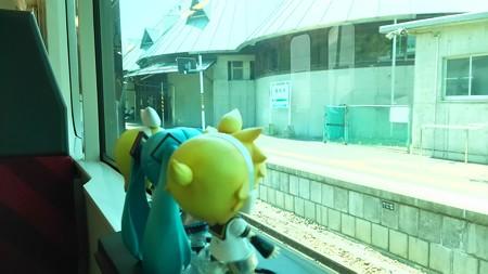 磐城塙駅に停車。