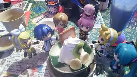 めー:「ココナッツアイス来たよ」 兄:「やったぁーーー♪」