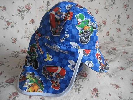 マリオの日除け帽子