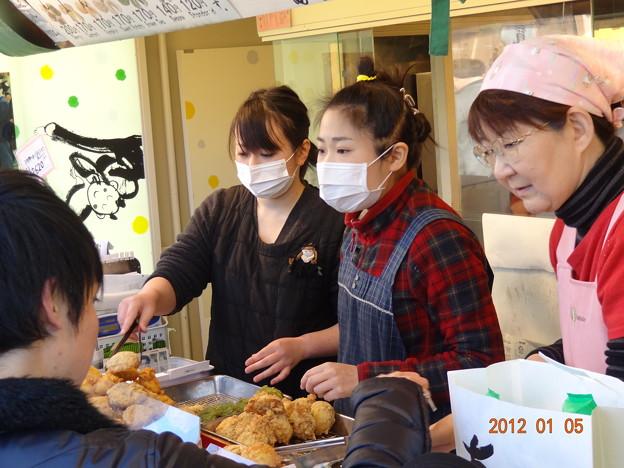 2012年浅草浅草寺で初詣