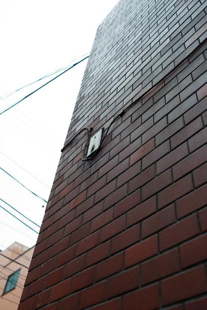 壁から線が出ていました