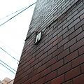Photos: 壁から線が出ていました