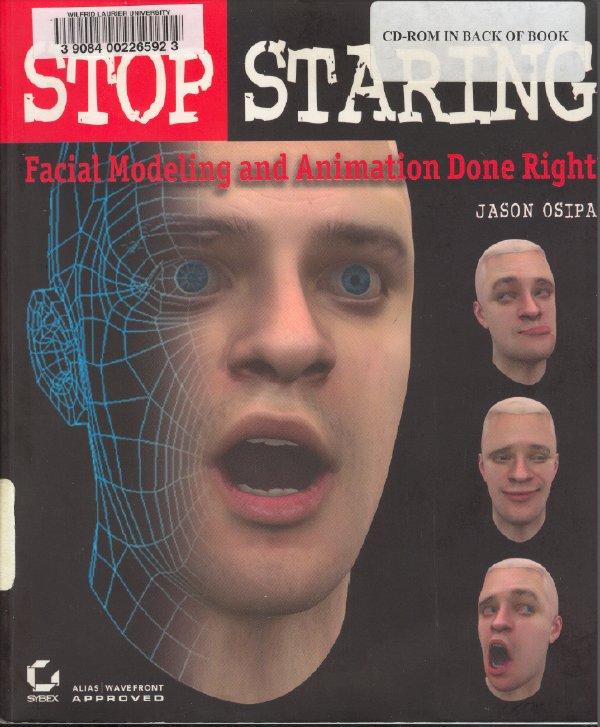 动画表情书籍-Stop Staring 第三版[光盘镜像]
