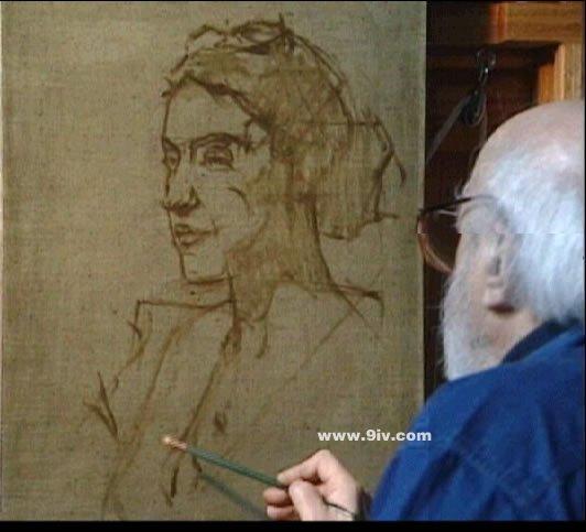 Daniel Greene油画肖像技法
