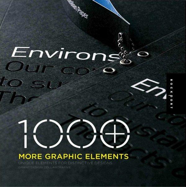 1000多个图形元素,独特的设计元素(1000 More Graphic Elements)