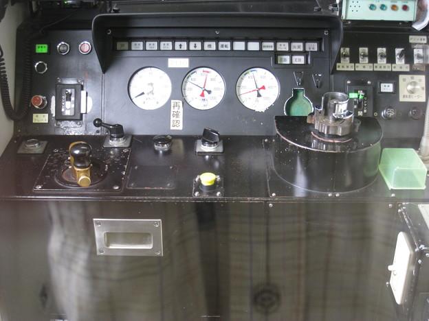 関東鉄道常総線 キハ2100形 運転台