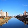 川沿いの街 CIMG3848