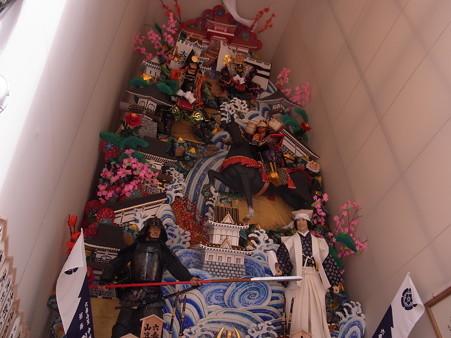 12 博多祇園山笠 飾り山 中州流 決戦のぼうの城(けっせんのぼうのしろ)2012年 写真画像2