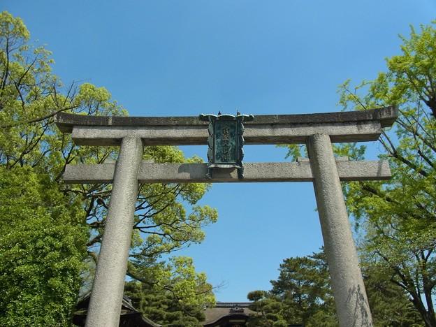 Photos: 豊国神社鳥居
