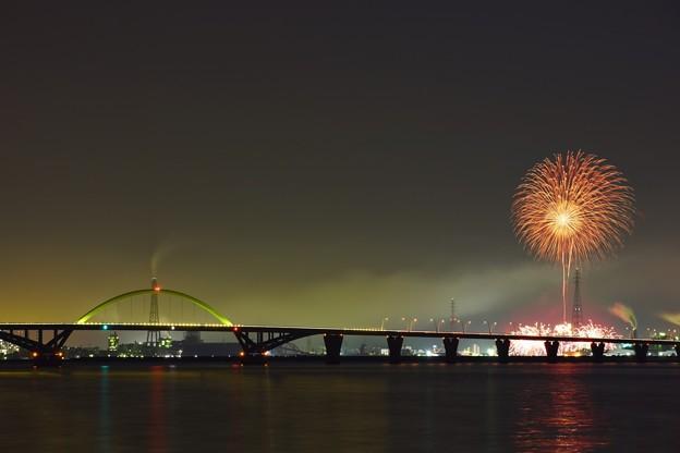 初夏の連絡橋