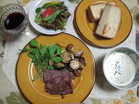 アメリカ産の牛肉使用
