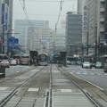 広島市の市電風景(2015.4.5.)