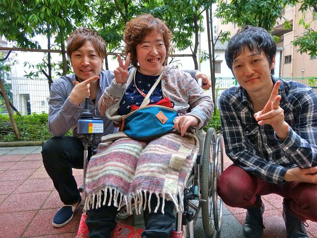 まりちゃんヽ(・∀・)ノトランク ひろしまフラワーフェスティバル2015