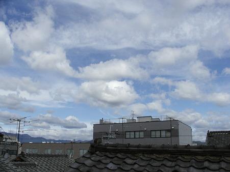 10月3日の空