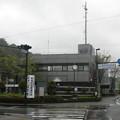 藤枝市岡部支所。(2015年)