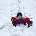 写真: 初滑り1