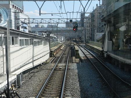 大阪環状線の車窓(弁天町→天王寺)9