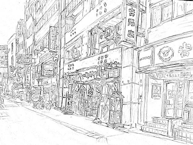 写真: 大国町 #sketch365
