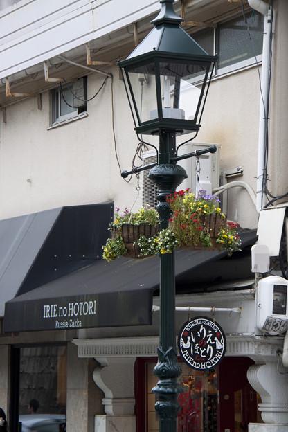 北野の街燈