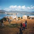 チチカカ湖の葦の浮島 Uros Islands,Peru