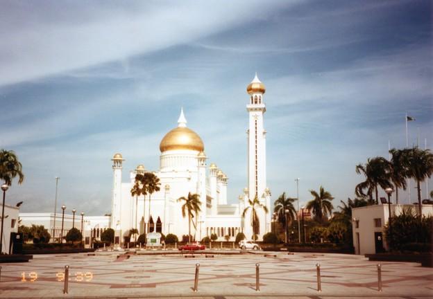超リッチな国のモスク  Mosque,Brunei