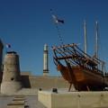 Photos: 皆様のご活躍を韓国からお祈りします。今日から旅行中につきしばらくフォト蔵をお休みします。アンニョンヒ ケセヨ。ちくら、頓首。(写真:ドバイの旧要塞、現博物館のダウ船)