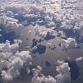 写真: 雲の上