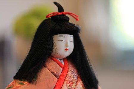 2012.03.03 山手西洋館 ブラフ18番館 テーブルのお雛様