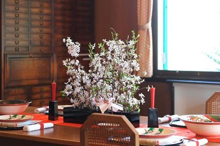 2015.03.17 山手 エリスマン邸 春のテーブルセット