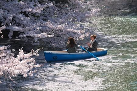 2015.04.02 千鳥ヶ淵 さくらボート