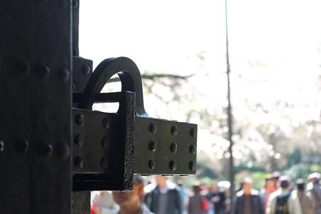 2015.04.02 千鳥ヶ淵 半蔵門 閂
