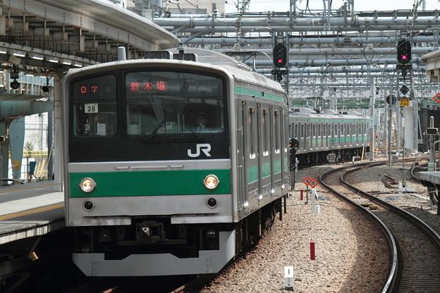 ハエ28編成 大崎駅