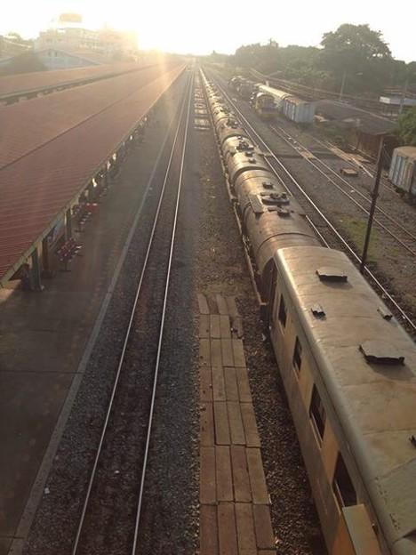 BBV.50003、Chachoengsao Junction、タイ国鉄