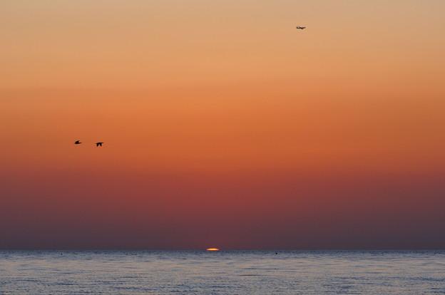 日が沈む前に