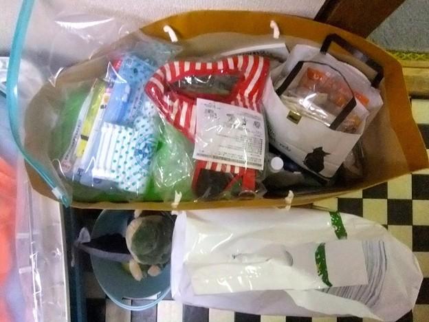 Photos: ハーネス、歯磨きセット、バイオチャレンジ、シャンプーなどなど