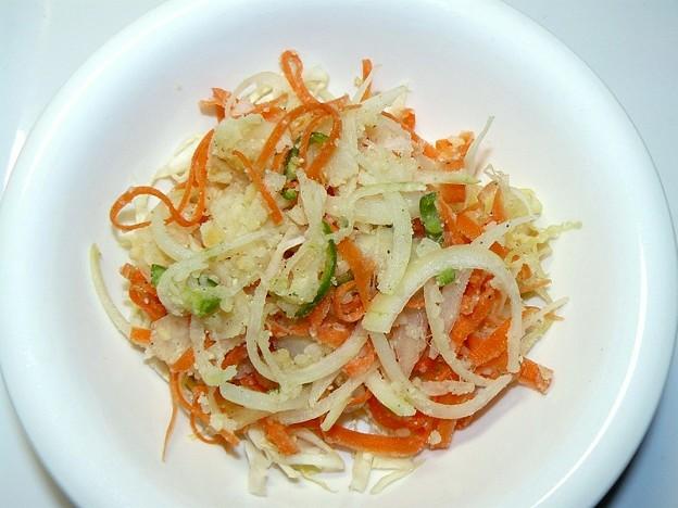 ニンジンとジャガイモのサラダ