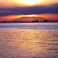 マリベレス山 マニラ湾