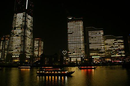 ハートマークのビルライト2011