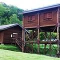 中川町の無料ログハウス。