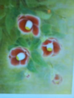椿の絵です。