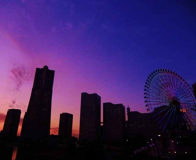 yokohama magic hour ☆