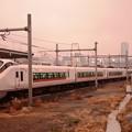 Photos: E657系特急ひたち20号夕暮れの品川到着
