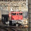 EF65 1118+ホキ4B工臨 小山留置線発車