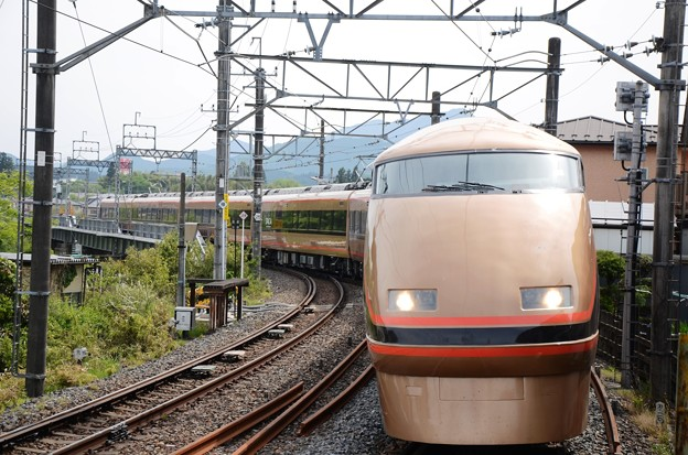 東武100系日光詣スペーシア特急きぬ117号大谷向通過
