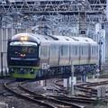 Photos: 臨時快速リゾート那須野満喫号9522M八王子行き夕刻の小山接近