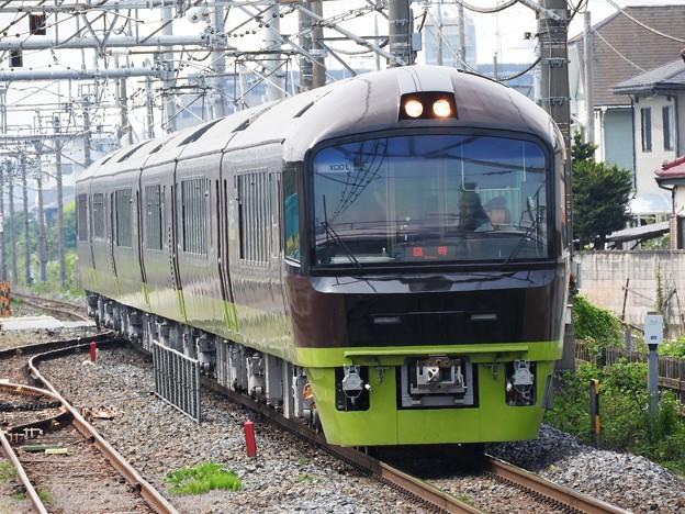臨時快速リゾート那須野満喫号9523M 雀宮1番接近