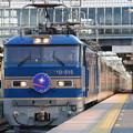 Photos: EF510-515牽引寝台特急カシオペア号 夕陽の雀宮1番通過♪