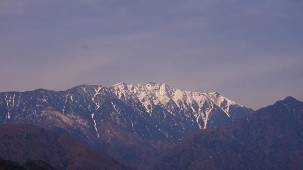 アサヨ峰 2,799m ~ 栗沢山 2,714m
