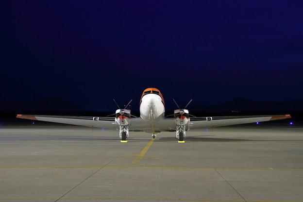 BT-67 C-FBKB Night stay